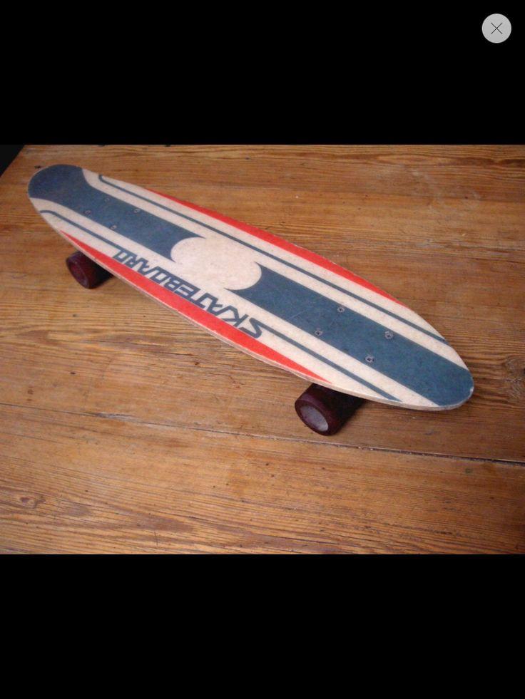 Vintage skate boards have quickly