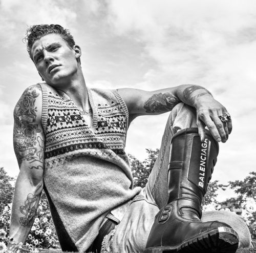 Mikkel Jensen for Interview Magazine by Jason Kibbler - Soul Artist Management