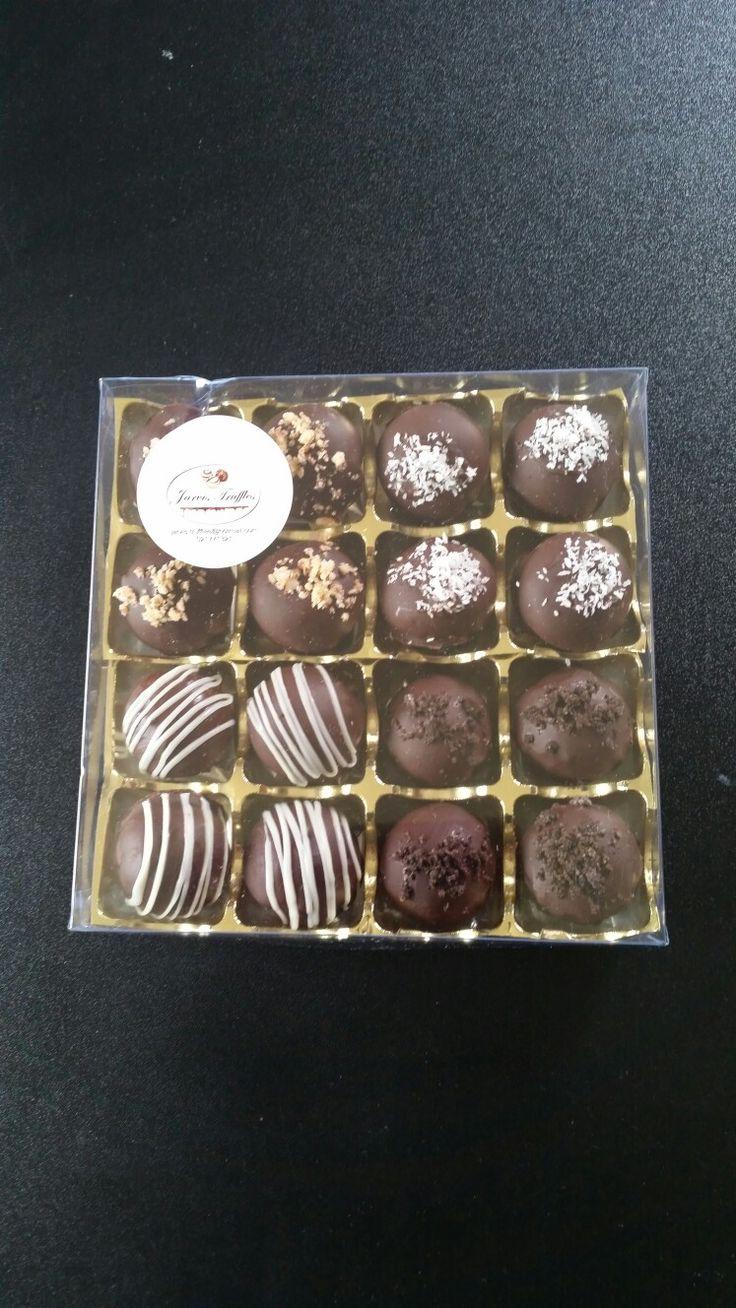Gift box of mixed Truffles