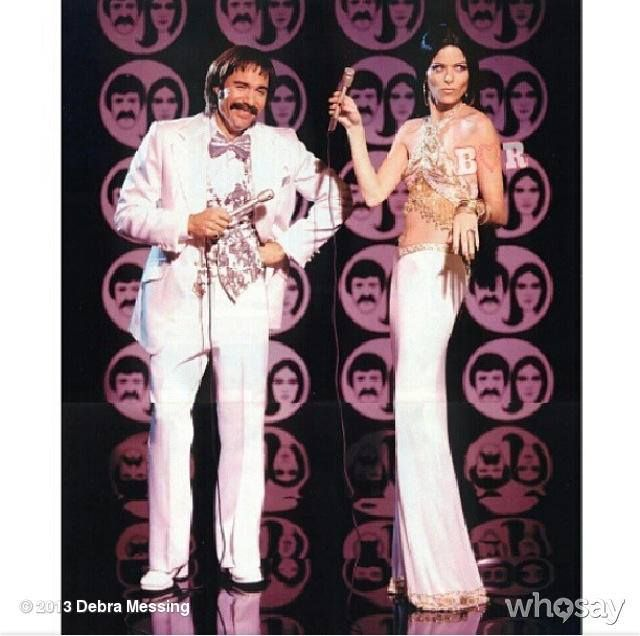 DEBRA MESSING AND ERIC MCCORMICK AS SONNY AND CHER