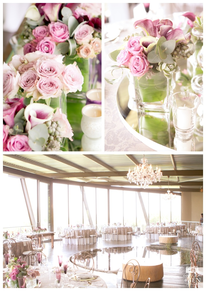 I love the colors used in Linné and Juan's wedding. The combination of lilac, cappuccino, grey and purple works  well together creating softness and romance.