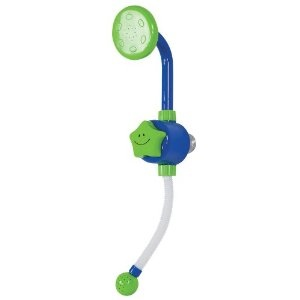 Kid 39 s shower head and bath toy toys games - What uses more water bath or shower ...