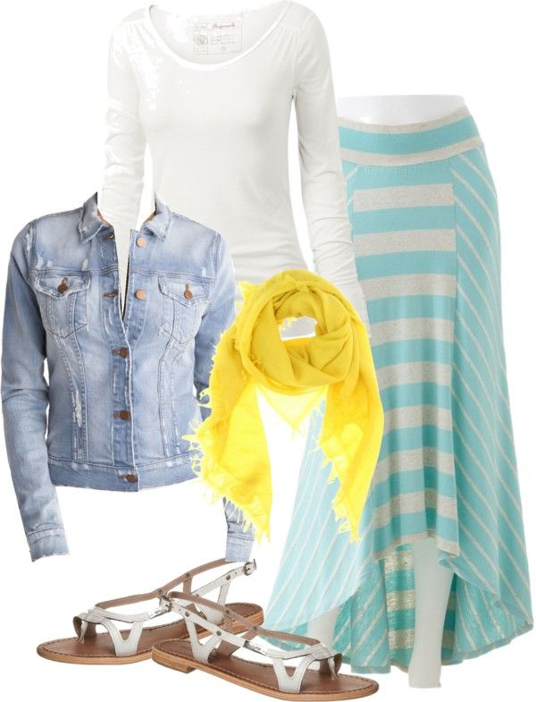 """summer"" by fiddlegrass-ashley ❤ liked on Polyvore"