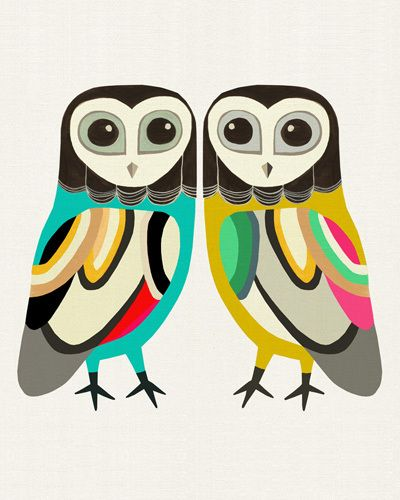 A Company of Two - Inaluxe Prints - Easyart.com