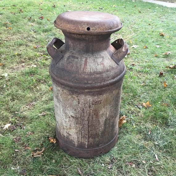 Farmhouse decor | Vintage milk can | Antique milk…