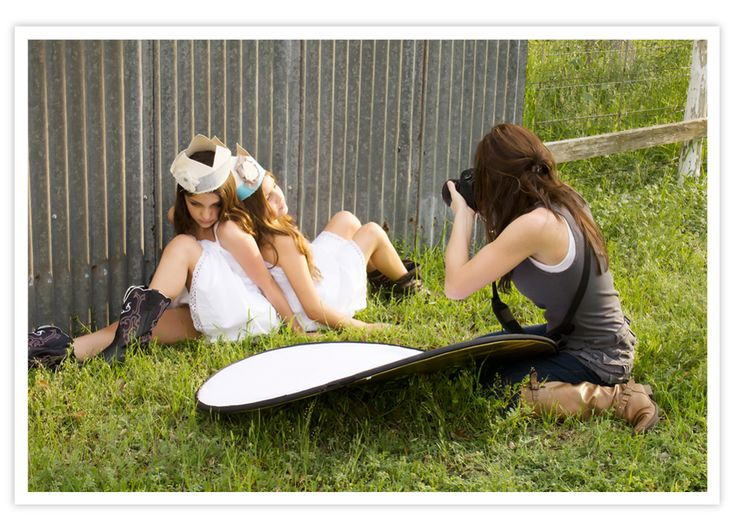Using a reflector by yourself