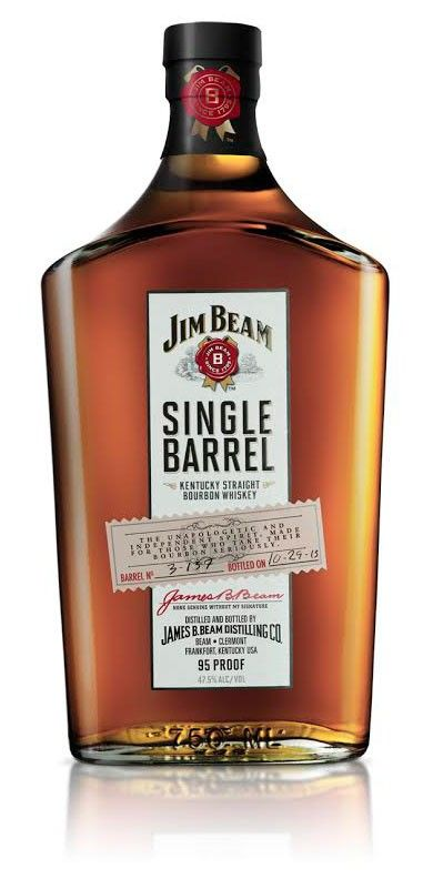 Jim Beam Single Barrel Bourbon Whiskey; The epitome of the Jim Beam offerings - this bourbon is exquisite! | spiritedgifts.com