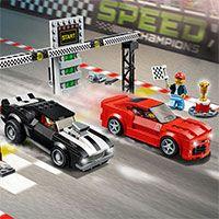Lego Hız Şampiyonları,LEGO Hız Şampiyonlarından biri olursanız, lego parçalarının etrafında yarışırken partisyonunuzdaki her yarışta birinci bit