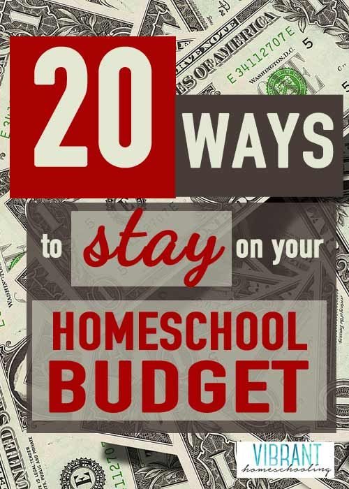 Great ideas here on how to stay on your homeschool budget. Tips for freebies, discounts and more!