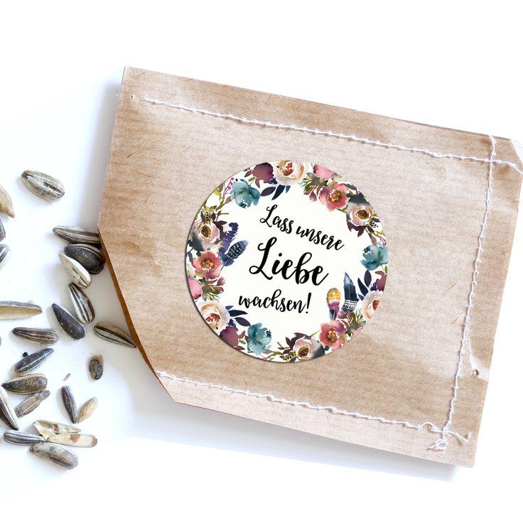 Lass unsere Liebe wachsen – BOHO Hochzeit