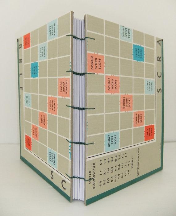 Scrabble Game board journal!