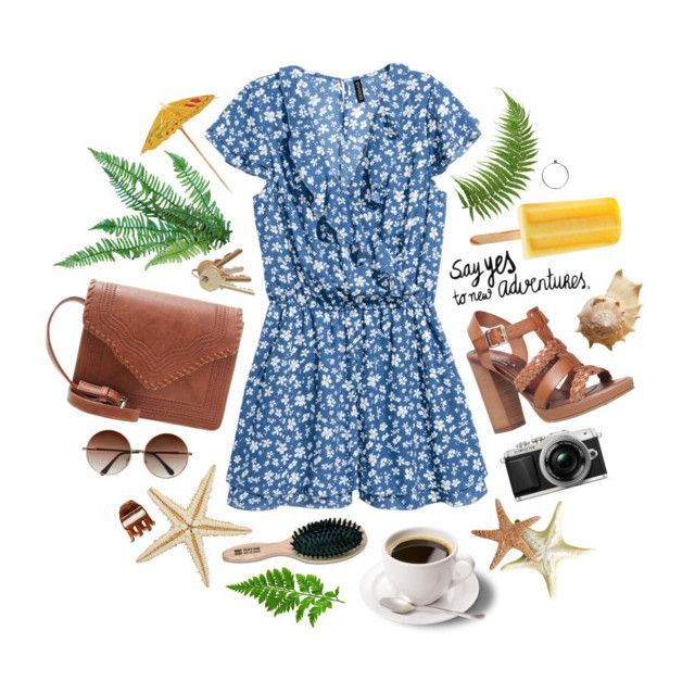 Summer Jumpsuit 🌿 by memorycloset on Polyvore featuring polyvore, fashion, style, Carvela, H&M and clothing