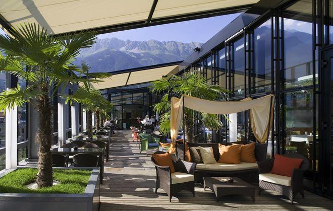 The Penz Hotel rooftop Bar - Innsbruck, Austria