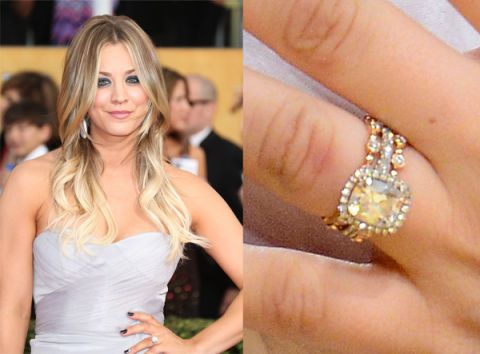 Stunning Celebrity Engagement Rings - Biggest and Best Engagement Rings Ever
