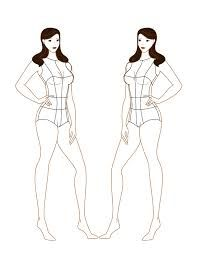 11 best croquis images on pinterest cast on knitting dress free fashion illustration templates google search pronofoot35fo Choice Image