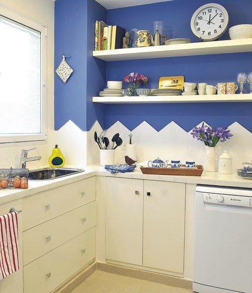 En un antiguo departamento de Belgrano de 75 mts2, un matrimonio joven encontró el espacio ideal para su primer hogar. Tras una reforma completa de la cocina, el baño y el hall de entrada, se hizo …