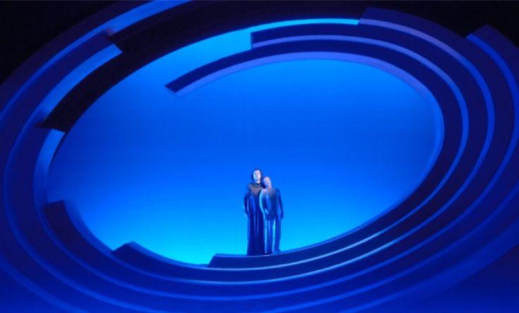 TRISTAN UND ISOLDE by Richard Wagner | set designer ROLAND AESCHLIMANN