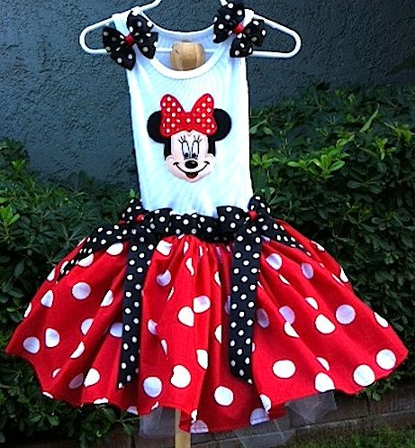 Minnie+Mouse+tutu+dress+by+HappyLittleRy+on+Etsy,+$80.00