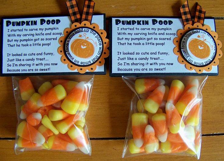 Pumpkin Poop - love the poem with it!