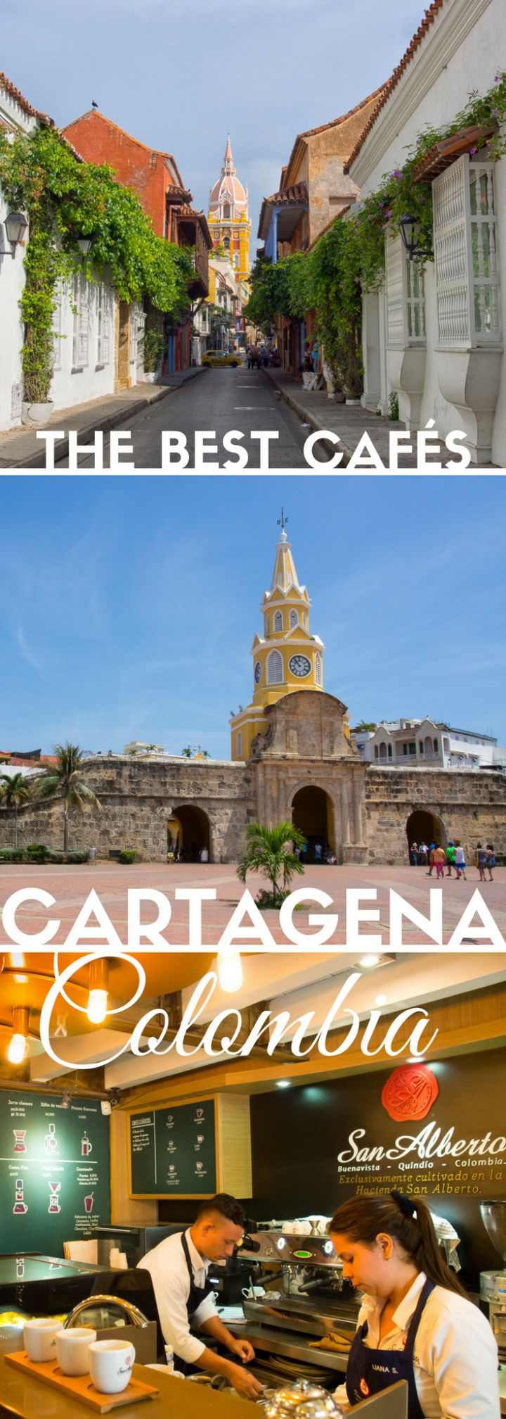 Taste the best coffee beans in Colombia inside the walled old city of Cartagena. Browse the best cafes for a specialty coffee geek!
