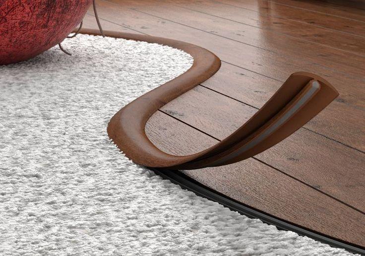 FLEXIBLE FLOORING PROFILE,Transition Profile Strip,Floor Trim Threshold - 3m in Home, Furniture & DIY, DIY Materials, Flooring & Tiles | eBay