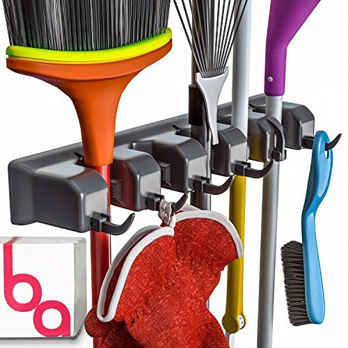 Berry Ave Broom Holder and Garden Tool Organizer for Rake... https://www.amazon.com/dp/B01DI8H364/ref=cm_sw_r_pi_dp_x_7CVAyb3MY79G6