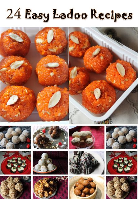 NEW POST : 24 Easy Ladoo Recipe.....Delicious Indian Laddu Recipe Collections.. Recipe : http://www.yummytummyaarthi.com/2015/06/24-easy-ladoo-recipes-indian-laddu.html