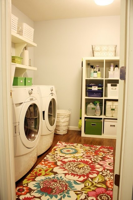 Starting to think I have a slight (huge) obsession with laundry rooms