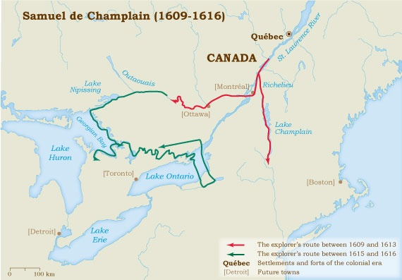Champlain 1609-1616