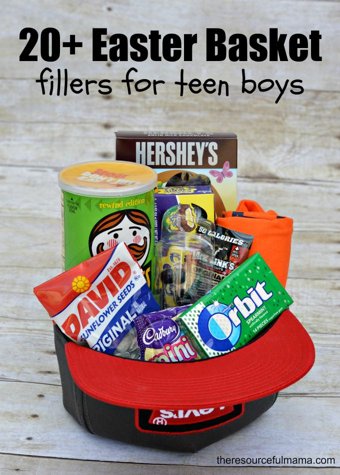 200 best gift baskets images by em brown on pinterest gift ideas 20 easter basket fillers for teen boys negle Gallery