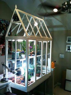 Awesome Indoor Greenhouse Diy Dass Sie Sich Selbst Erstellen Konnen