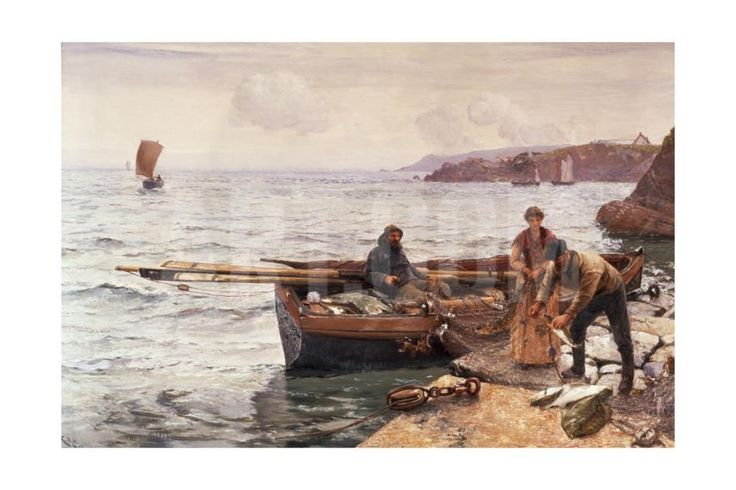 Crabber's Bait Giclee Print by Charles Napier Hemy at Art.com