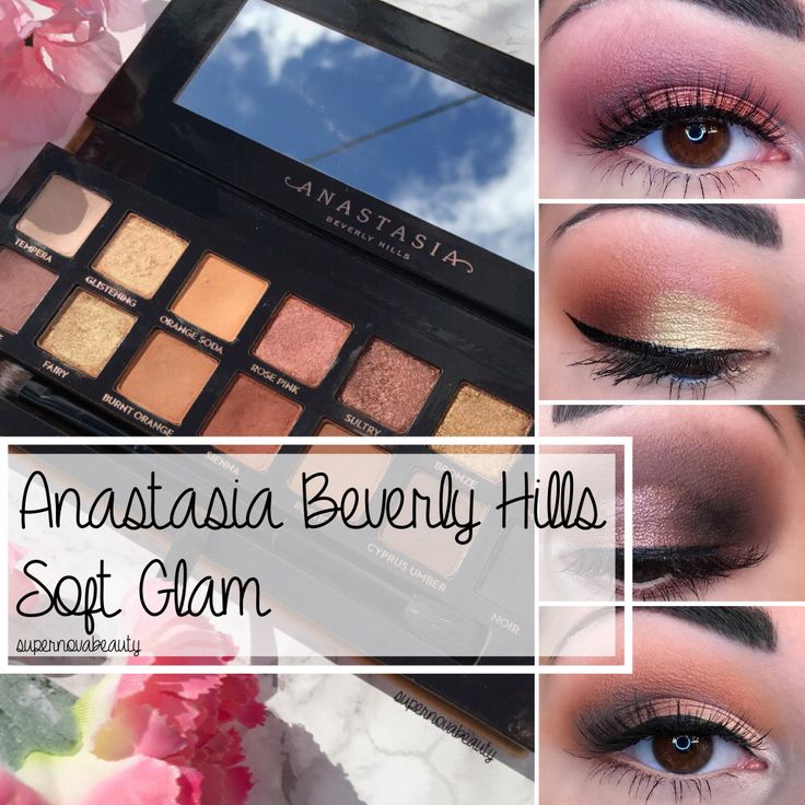 Anastasia Beverly Hills Soft Glam | Review, Swatches + 5