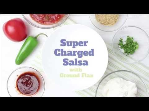 Healthy Flax Supercharged Salsa Video
