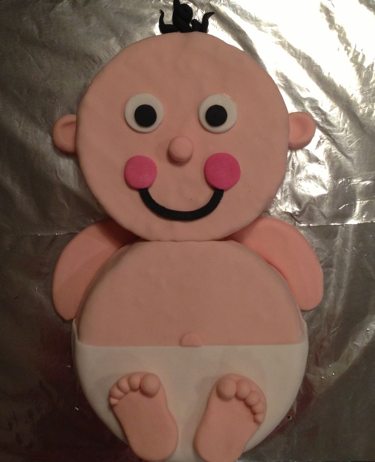 Baby on the way? Super cute cake for any baby shower