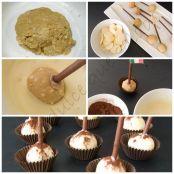 Tiramisu Cake Pops - Paso 1
