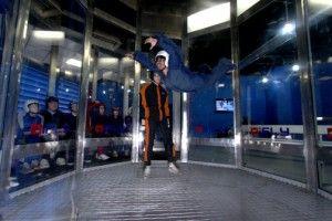 Indoor Sky Diving at Sky Ventures  Orlando, FL