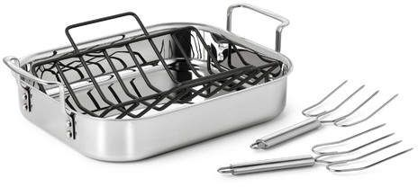 Cuisinart Multiclad Pro 3 Ply Roasting Pan Calphalon Cookware