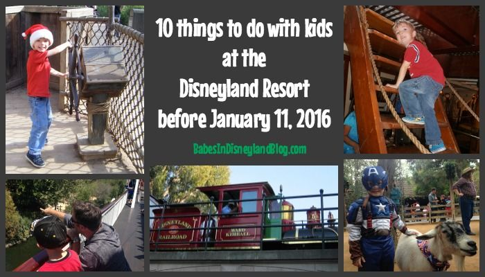 10 things you must do with kids at Disneyland before January 11 - Babes in Disneyland