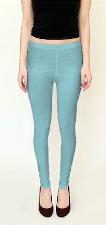 These #artofwhere #solid_color #leggings and #capris collection are custom #color_synchronized make a #cute #Yoga_Outfit see matching #zazzle_tank by #colourharmonix