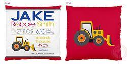 Jake Birth Chart Cushion