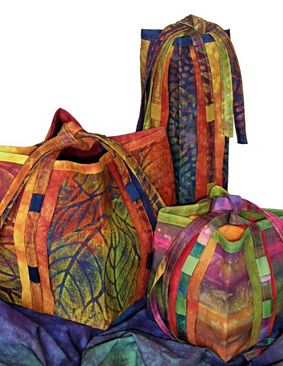 Bosa Nova Bags pattern from Lazy Girl Designs