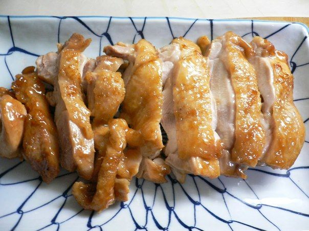 Chicken Simmered in Umeshu