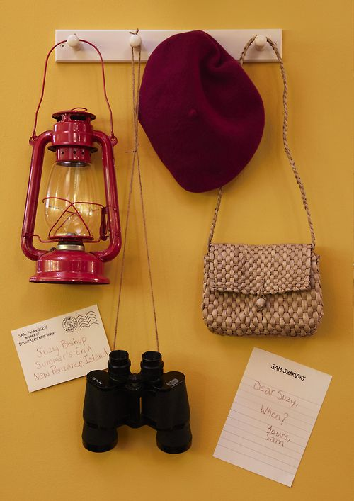Suzy Bishop's essentials from Moonrise Kingdom