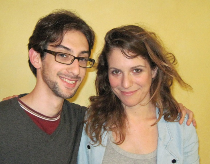 Io e Isabella Ragonese