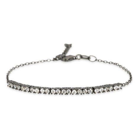 De Solon Bracelet van Sarah Lou is een stijlvol tijdloos sieraad. De armband is vervaardigd van sterling zilver verguld met 18 karaat zwart rhodium.  http://www.sarahlou.nl/product/solon-bracelet-black-rhodium/1460177/index.html