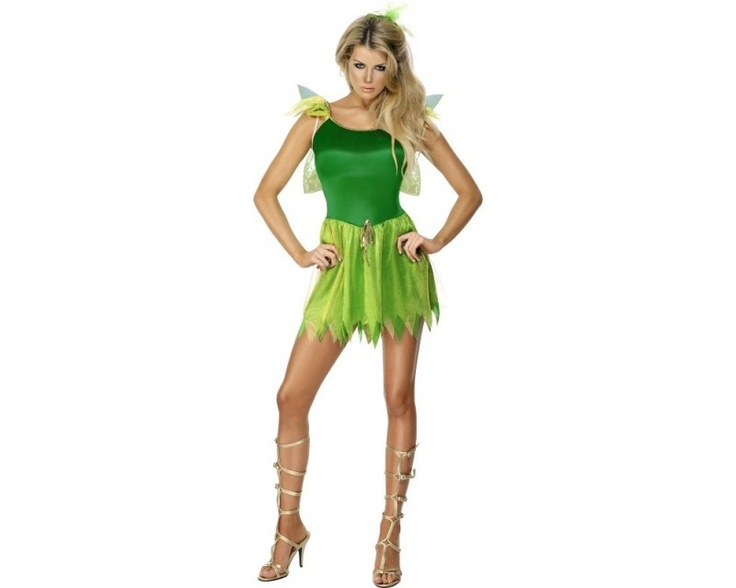 Costume de fée clochette pour femme - Déguisement et fête : vente de Costume de fée clochette pour femme pas cher
