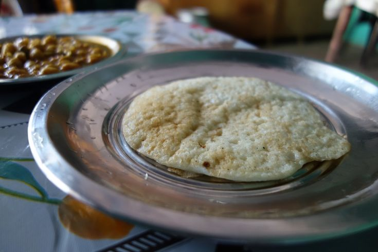 Dosa - Rice pancakes - authentic Indian recipe from a street restaurant and a village in India (source: my personnal food and travel blog / vlog with recipes, authentic video recipes, street food, food and travel documentary, travel info and more. Welcome! :) )