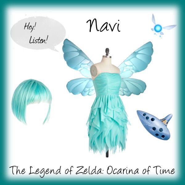 """Navi - The Legend of Zelda: Ocarina of Time"" by christy-church on Polyvore"
