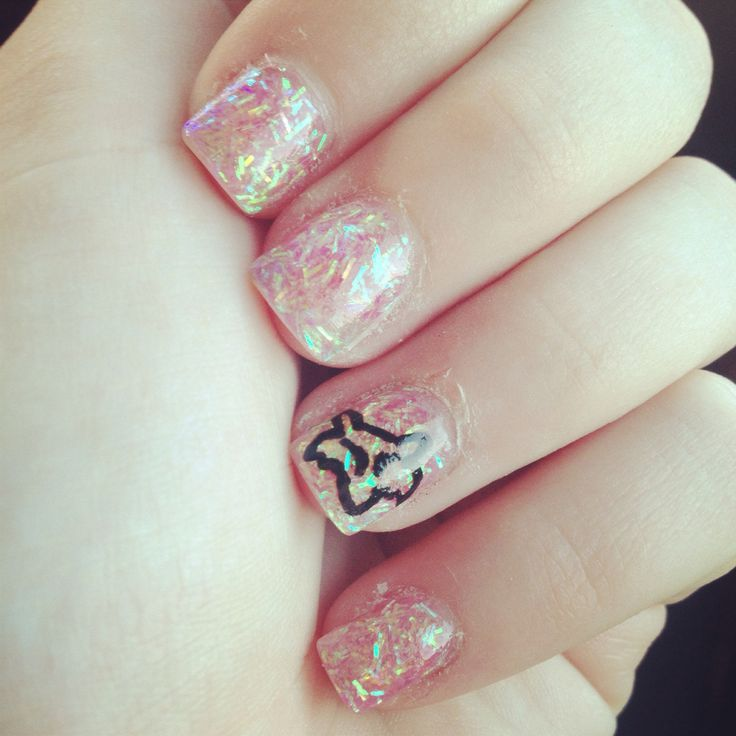Fox Nail Designs: 25+ Best Ideas About Fox Racing Nails On Pinterest